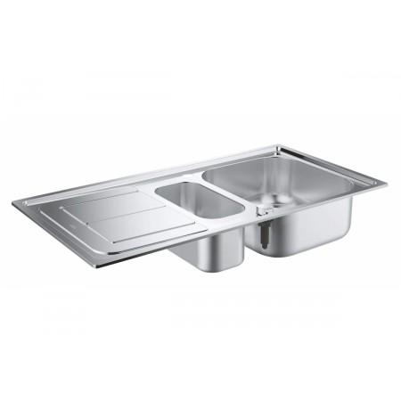 Кухненска мивка GROHE K300 от неръждаема стомана с автоматичен сифон, 31564SD0