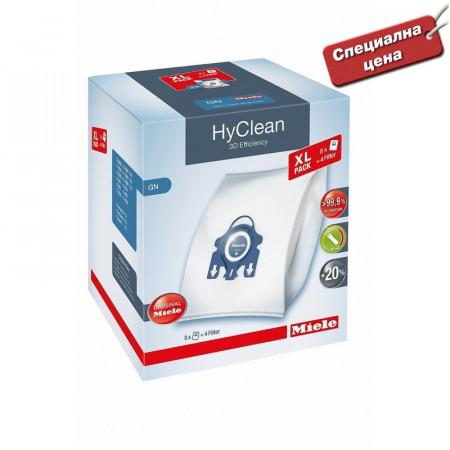 Торбички за прахосмукачки GN XL HyClean 3D