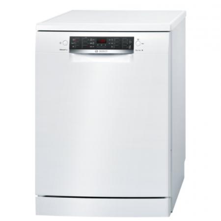 Свободностояща съдомиялна машина BOSCH SMS46GW04E , 60cm, Silence Plus, Бяла