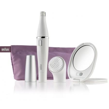 Система за грижа за лицето с епилатор и четка за почистване на лице Braun Face 830 Epilation & Cleansing