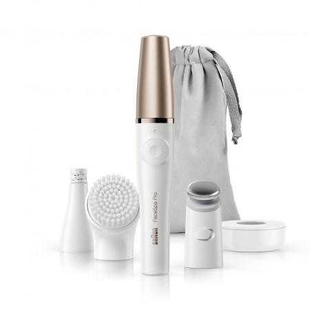 Система за грижа за лицето с епилатор, четка и масажираща глава Braun FaceSpa Pro Silk-épil 911
