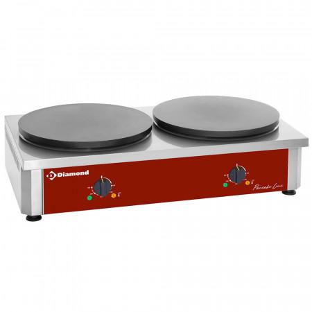 Професионален уред за палчинки, двоен - Diamond