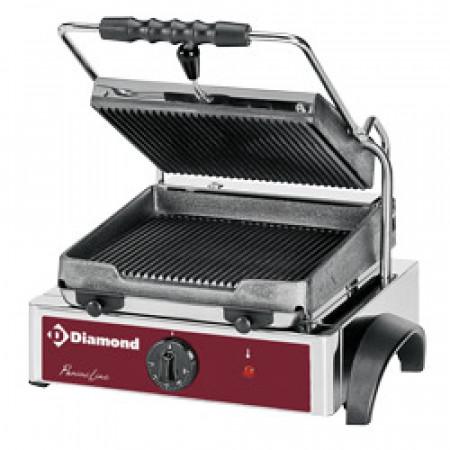 Електрически контактен грил тостер -Panini grill Diamond