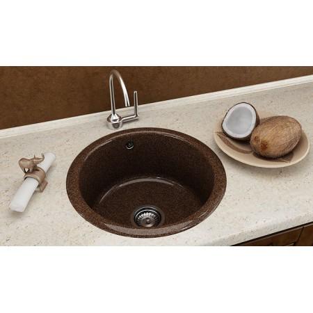 Кръгла мивка FAT 206 Граниксит