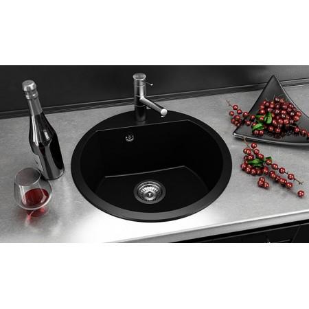 Кръгла мивка FAT 223 Граниксит