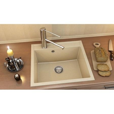 Единична мивка FAT 226 Граниксит 56x51см