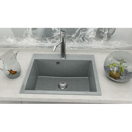 Единична мивка FAT 227 Граниксит 60x51см
