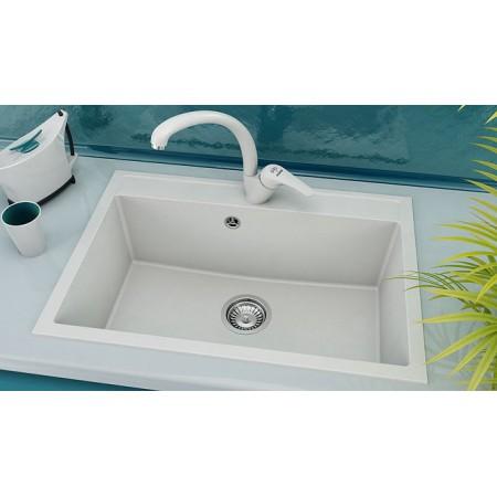 Единична мивка FAT 231 Граниксит 70x49см