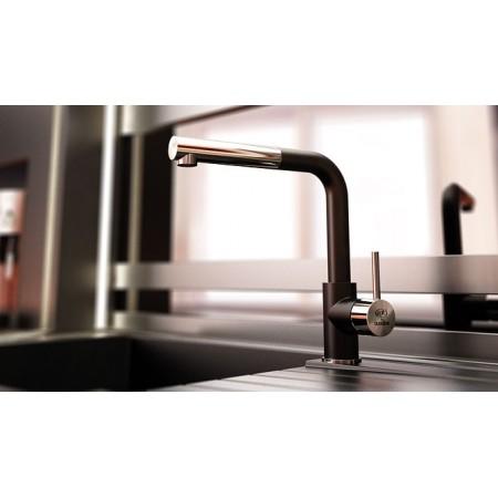 Смесител за кухня с изтеглящ се душ FAT 68936