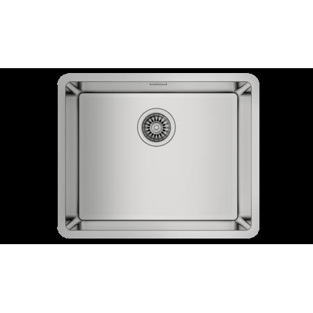 Подплотова иноксова мивка BE LINEA RS15 50.40