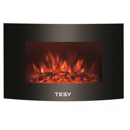 Декоративна стенна електрическа камина Tesy WEF 200 SRELW TR