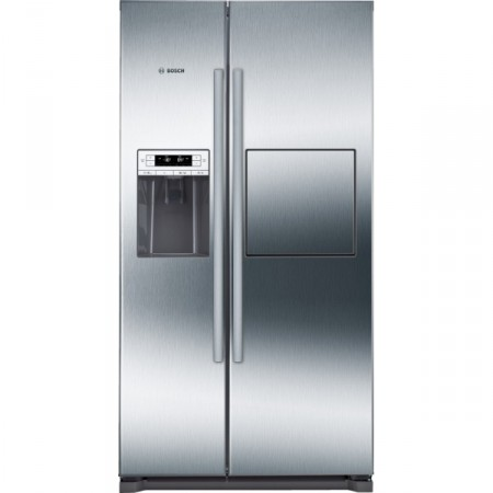 Хладилник с фризер, BOSCH 2 врати Side-by-Side, NoFrost KAG90AI20