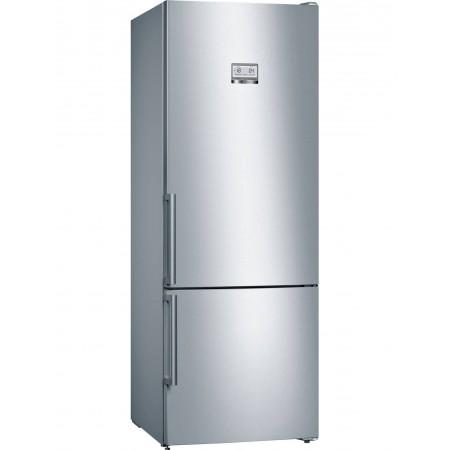Хладилник с фризер NoFrost Bosch KGN56HI3P