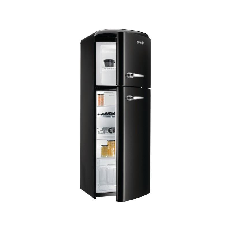 Хладилник с горна камера Gorenje Retro Collection RF60309OBK