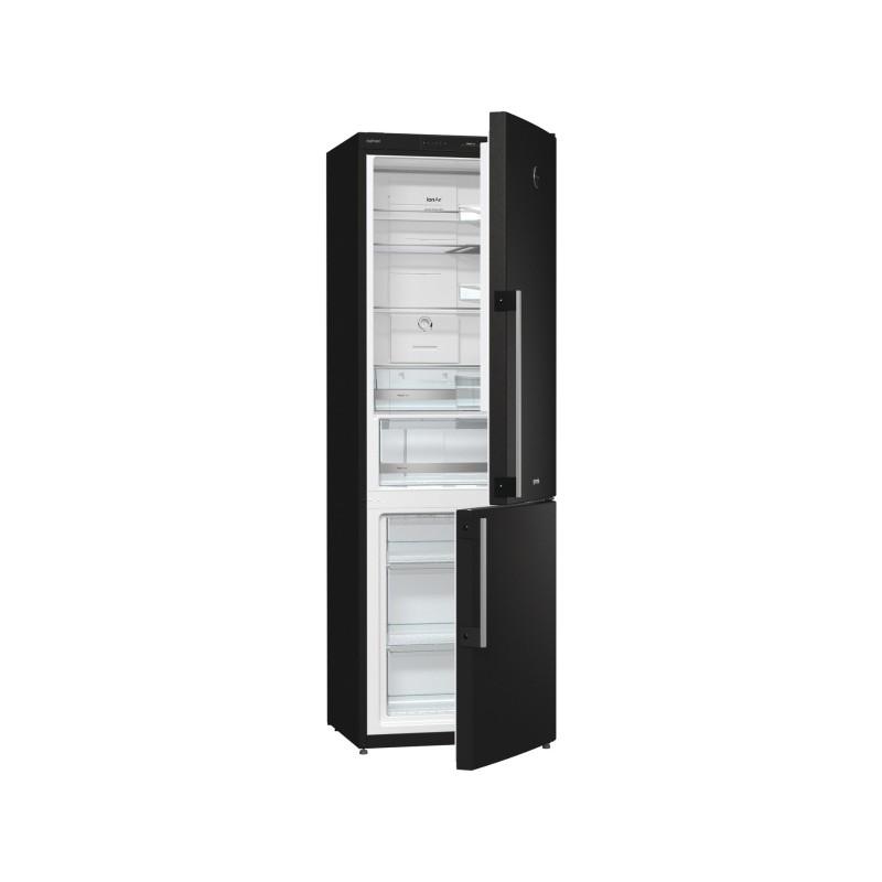 Хладилник с фризер, клас A+, Йонизатор, NoFrost Plus, Gorenje NRK61JSY2B