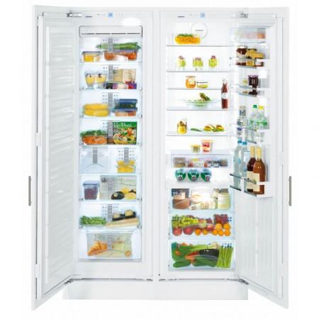 Хладилник SIDE-BY-SIDE за вграждане, NoFrost, LIEBHERR SBS 70I4 Premium