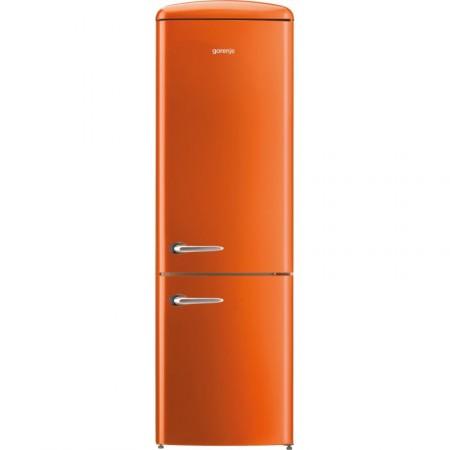 Хладилник сфризер, Gorenje Retro Collection ORK192O, цвят оранжев