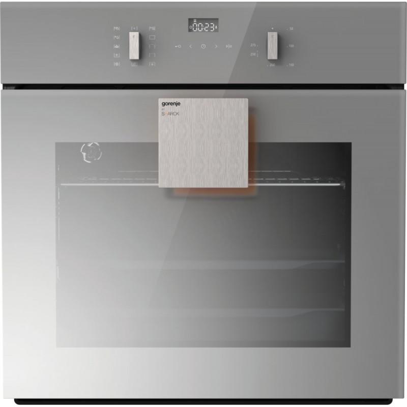 Фурна за вграждане Gorenje BO637ST, клас A, обем 67л, Цвят огледално сиво