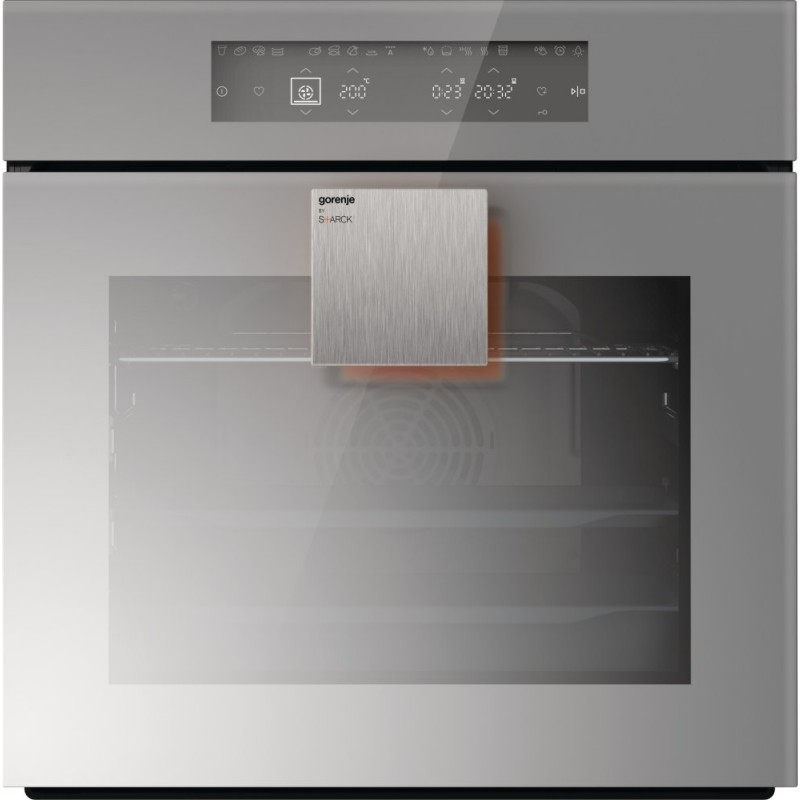 Фурна за вграждане Gorenje BO658ST, клас A, обем 67л, Цвят огледално сиво
