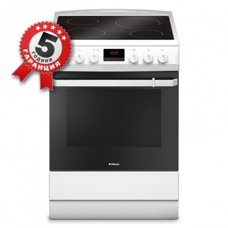 Стъклокерамична готварска печка, 60см, инфрачервен нагревател Hansa FCCW 69209
