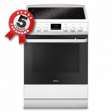 Стъклокерамична готварска печка, 60см, 10 функции, Hansa FCCW 69229
