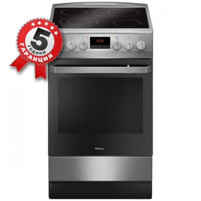 Стъклокерамична готварска печка, 50см, 11 функции Hansa FCCX 59129