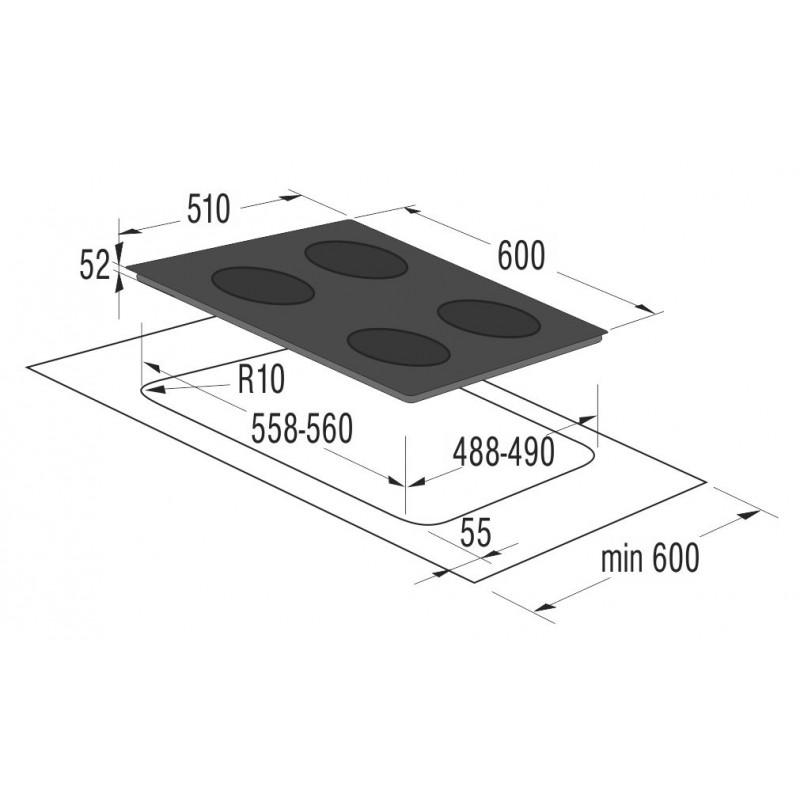 Индукционен котлон за вграждане Gorenje IT635X
