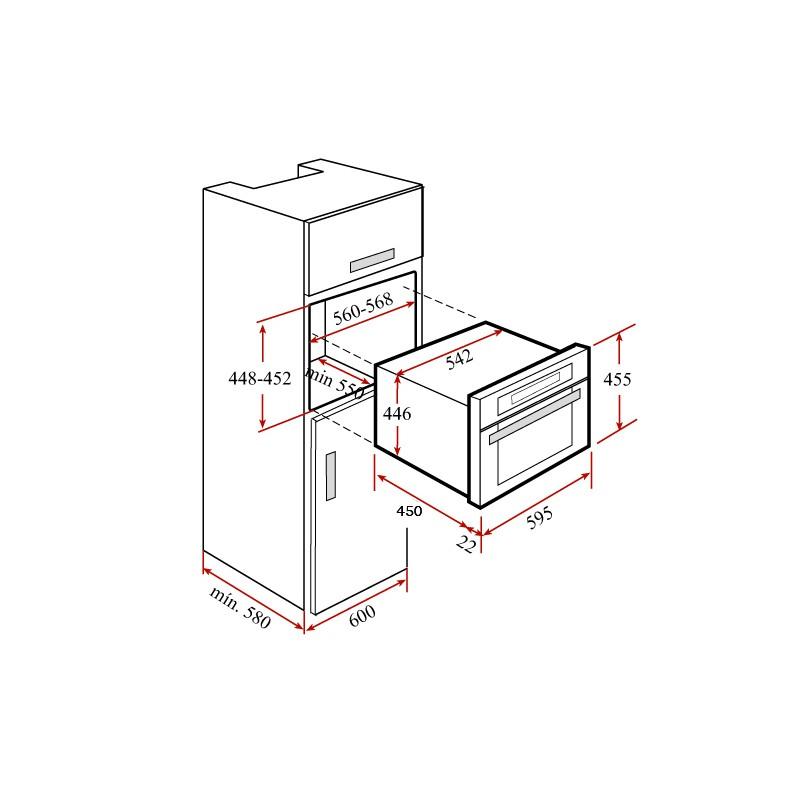 Комбинирана фурна на пара и грил Teka HKL 970 SC
