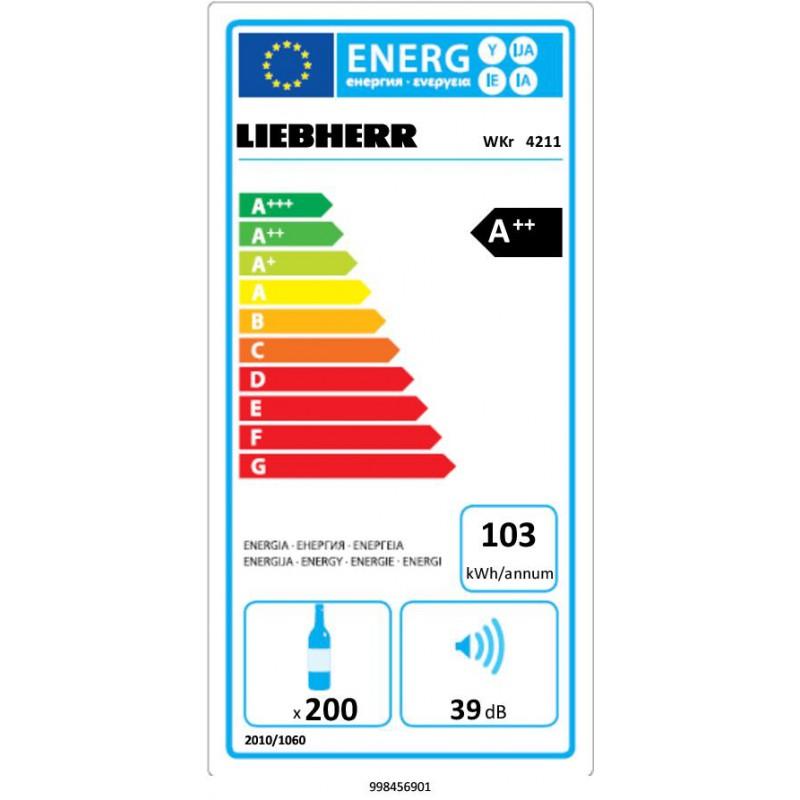 Охладител за вино LIEBHERR WKr 4211