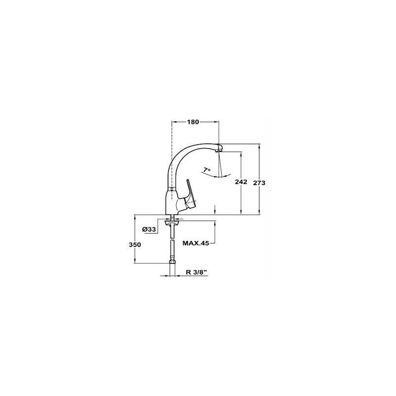Кухненски смесител Teka MT PLUS 915