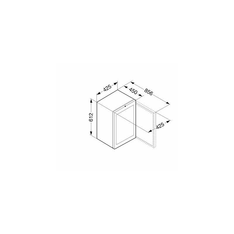 Охладител, обем 45 л, клас А+, LIEBHERR CMes 502