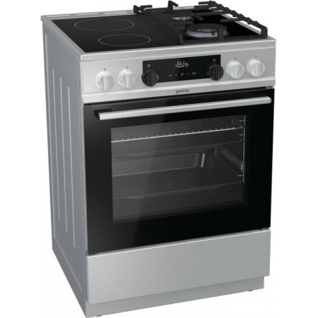 Комбинирана стъклокерамична печка KC6355XT