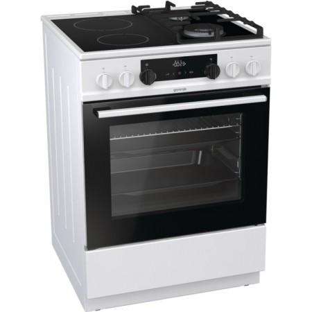 Комбинирана стъклокерамична печка KC6355WT
