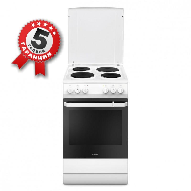 Електрическа готварска печка, 50см, 11 функции, Hansa FCEW 59009