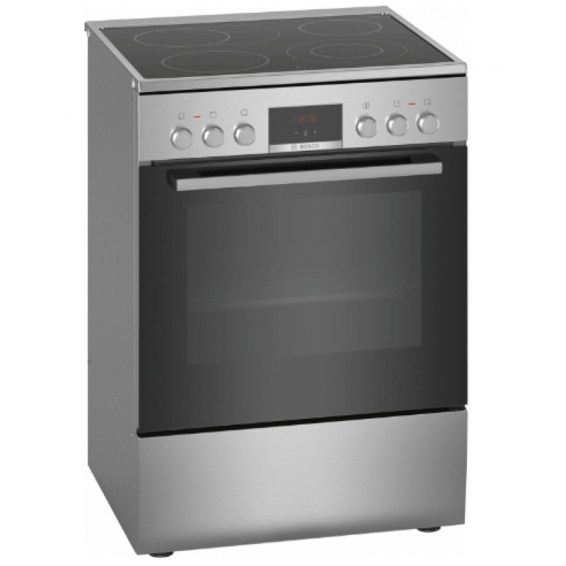 Електрическа готварска печка BOSCH HKR39C250, 60cm , неръждаема стомана