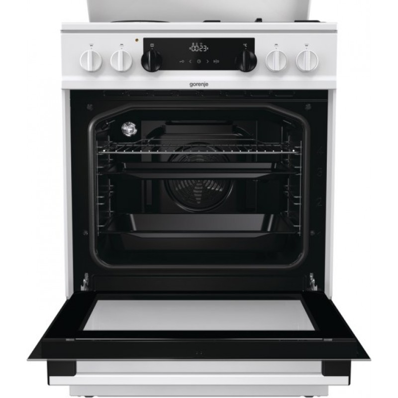 Комбинирана печка Gorenje K6351WF