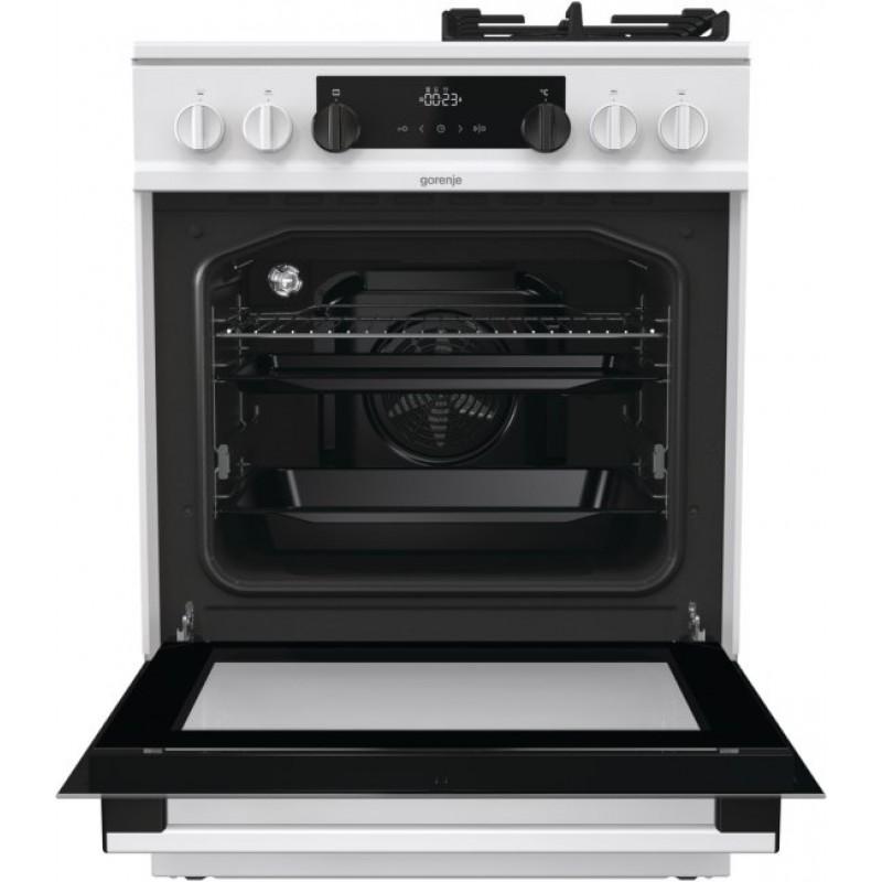 Комбинирана стъклокерамична печка Gorenje KC6355WT