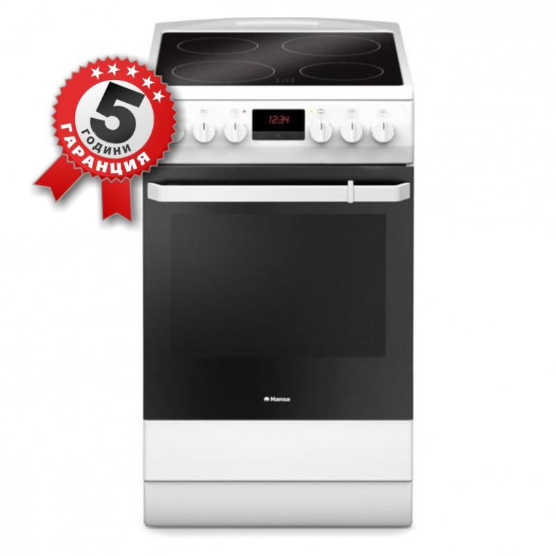 Стъклокерамична готварска печка, 50см, Енергиен клас А, Hansa FCCW59209