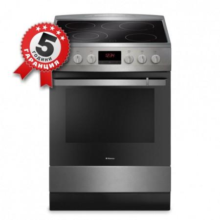 Стъклокерамична готварска печка, 60см, 10 функции, Hansa FCCI 69228