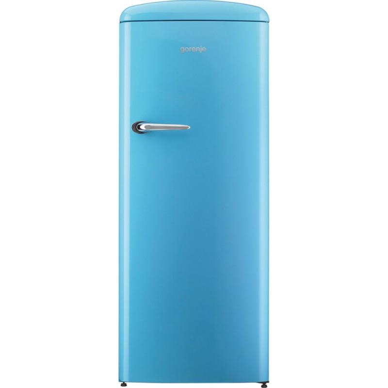 Хладилник Gorenje Retro Collection ORB152BL, син цвят
