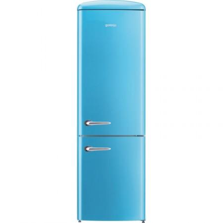 Хладилник сфризер, Gorenje Retro Collection ORK192BL, цвят синьо