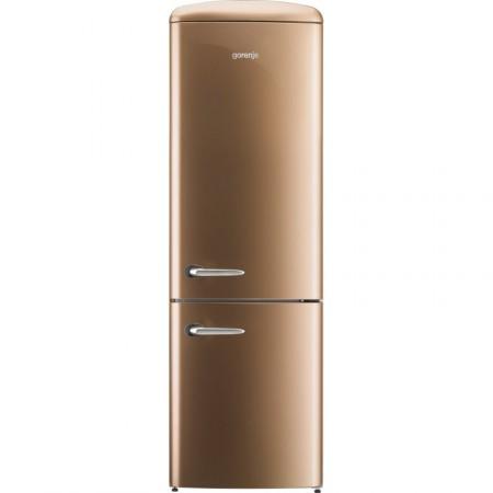 Хладилник сфризер, Gorenje Retro Collection ORK192CO, цвят кафе