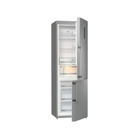 Хладилник с фризер, клас A++, NoFrost Plus, Gorenje NRC6192TX