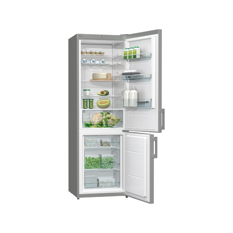 Хладилник с фризер, клас A+, NoFrost Plus, Йонизатор, Gorenje NRK6191CX