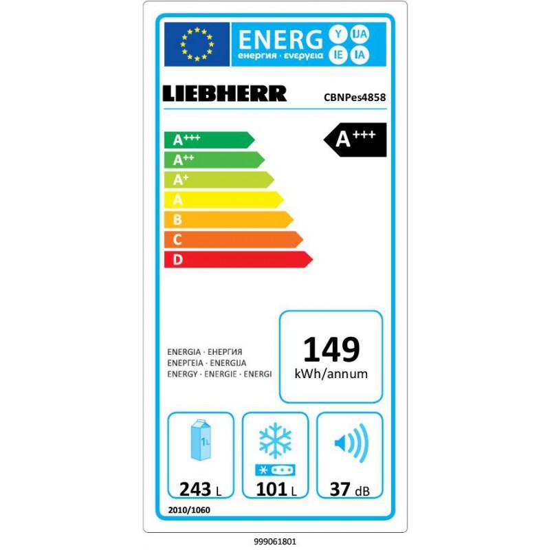 Хладилник с фризер LIEBHERR CBNPes 4858