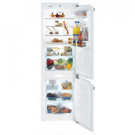 Хладилник с фризер за вграждане, BioFresh, NoFrost, LIEBHERR ICBN 3366