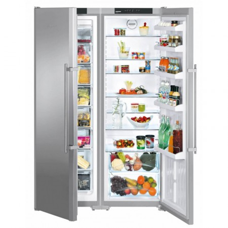 Хладилник Side-by-Side с NoFrost, обем 709 л, LIEBHERR SBSesf 7212 Comfort