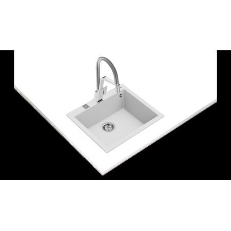 Гранитна мивка  TEKA FORSQUARE 50.40 TG, авт. клапан, за шкаф 60 см