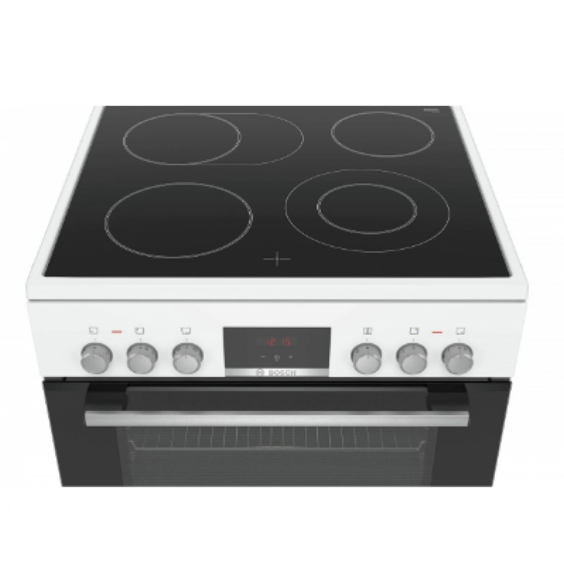 Електрическа готварска печка BOSCH, HKR39C220, 60cm, бяло