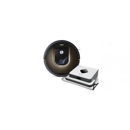 Роботизирана прахосмукачка Roomba 980 + Braava 390 Turbo